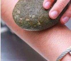 đá tắm tẩy lông